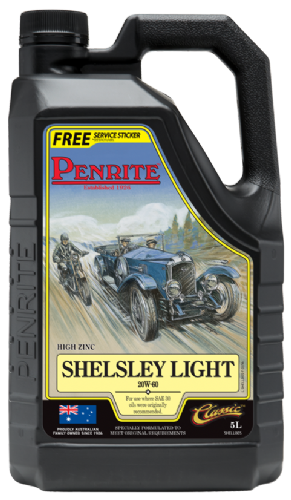Penrite Shelsley Light low detergent engine oil -5l